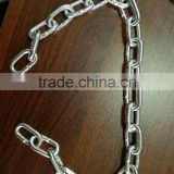 Decoration Welded Galvanized Iron Chain for 2 Ton Electric Chain Hoist