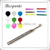 Online dart shop tungsten steel dart with flight shaft