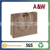 40cmx 30cm x 12cm Jute handle Bag