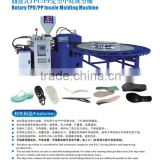 PP insole injection moulding machine\sole injection machine\ rotary &disc machine
