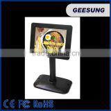 Popular 7'' USB displaylink in LCD Monitor Pole Display 8'' Customer Display POS System