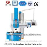 China C5116E-2 Single column vertical lathe machine for circular kintting machine price