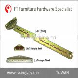 Taiwan OEM	11 Position Industrial Furniture Adjustable Angle Extension Door Desk Table Bed Sofa Metal Mechanism Hinge Hardware