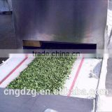 High efficiency lotus leaf drying machine