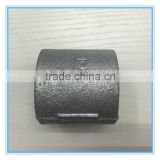 Popular casting Malleable iron socket pipe fittings without edge horn