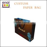 Superb promotional expo advertisement kraft paper bag for gift