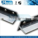 machined lift guide rail|traction machine for elevator