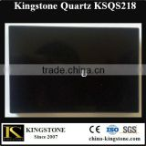 Best Price Artificial Stone Black Quartz Tile