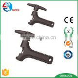 Bicycle chain rivet extractor