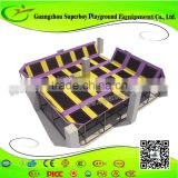 China kids indoor trampoline bed trampoline fabric wholesale Trampoline Park
