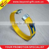 hot sale 2013 plastic bracelets with football
