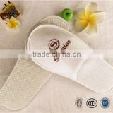 Logo customized hotel senior velour cheap hotel slippers,hotel disposable slippers,hotel bathroom slippers
