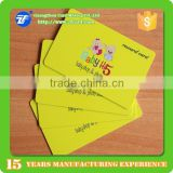 Low cost plastic pvc fidelity card with barcode                                                                         Quality Choice