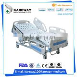 Hospital equipment modern manual hospital bed with head panel