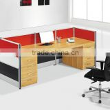 new design screen for office project reception table/the front desk furniture manufacture
