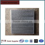 Customized Aluminum plate fin heat exchanger core