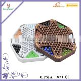 Wooden Chinese Checker Board Game And Wooden Checkers Board Game Of Chinese Checker For Childre