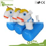 inflatable pony hop racing/ inflatable horse