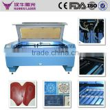 100W Hanniu CO2 leather co2 leather laser engraving machinery/co2 laser cutting machine controller