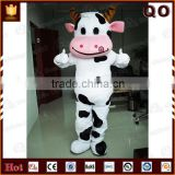 Reasonable price animal cow mascot costume cartoon adult for sale                                                                         Quality Choice
