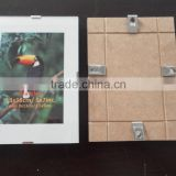 wholesale frameless glass picture frame metal clip frame 4x6 5x7 6x8 8x10