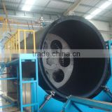 Plastic product making machinery: Hollow Wall HDPE Winding Pipe Machine