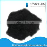 best quality recycled black POLYESTER STAPLE FIBER 1.2d to15d for spinning, filling, non-woven and carpet
