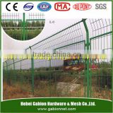 Welded mesh bended fence panels hot sale in Brazil