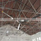 Church High Ceiling Mount 380V/1.5KW Large Industrial Ventilation Fan