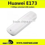 7.2Mbps wireless hsdpa 3g usb modem with antenna Huawei e173