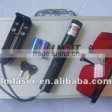 445nm 1000mW/1W Burning blue laser pointer torch with a focusable lens and keylock+EMS free shipping