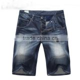 lastest jeans shorts men design jeans boy straight ripped cotton denim short pants jeans half pants