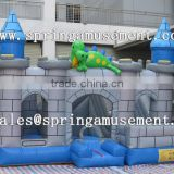 Crocodile classical inflatable party jumper and slide combo castle SP-CM025