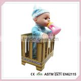 Plastic Connecting Toys Cheap Reborn Baby Dolls For Sale With Bottle Plastic Vinyl Baby Doll