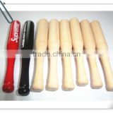 Made in china wholesale wood baseball bats for promotion