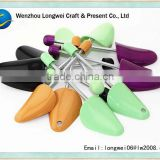 colorful plastic shoe keeper/plastic shoetree