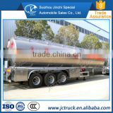 Truck trailer 3 axles 50000-55000 liters fuel tanker trailer, fuel tank semi trailer                                                                         Quality Choice