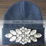 Fashionable design custom knitted crocheted beanie hat                                                                         Quality Choice