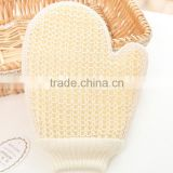 Hot Selling Sisal Bath Glove Exfoliating massage glove