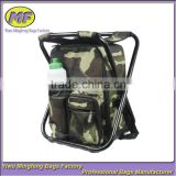 Camouflage Folding Fishing Chair with Bag HWY008