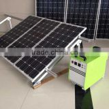 100W Good quality portable solar electricity generating system for home                                                                         Quality Choice