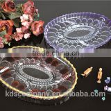 China Glassware Manufacturer High Quality Dry Fruit Tray Decorative