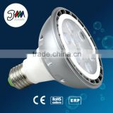 HOT SALE in alibaba high power aluminum 800lm dimmable high light par30 good quality E27 10w green safety led par light