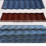 Colors Classical And Roman Type Stone Coated Roof Tile