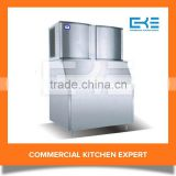 Hot Sale High Quality Full Automatic 1500kg Per Day Cooling Drinks Ice Cube Making Machine