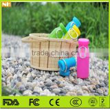 Hot selling colourful 650ml Silica gel bottle