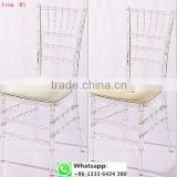Quality factory supply transparent clear resin acrylic crystal chiavari chair for wedding item: R1#