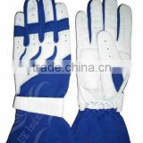 UEI-21012 blue/white Karting gloves, Go kart gloves, Kart racing gloves, kart sports gloves, kart gloves