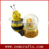 Water Globe of Unique Design Chubbee Bumble Bee for Sale