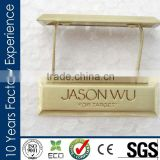 CreditProduction China Factory are able to provide special matt brushed gold flexible metal plate
